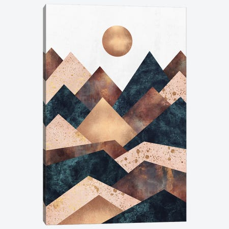 Autumn Peaks Canvas Print #ELF252} by Elisabeth Fredriksson Canvas Art