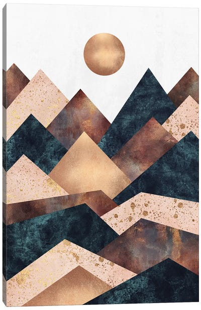 Autumn Peaks Canvas Art Print