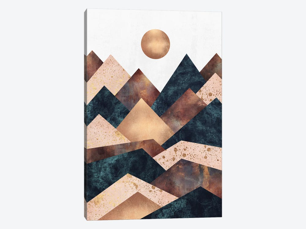 Autumn Peaks by Elisabeth Fredriksson 1-piece Canvas Print