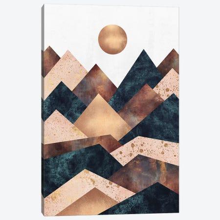 Autumn Peaks Canvas Print #ELF252} by Elisabeth Fredriksson Canvas Art