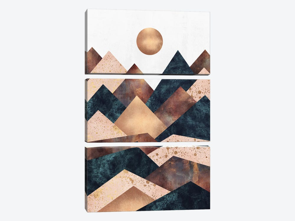 Autumn Peaks by Elisabeth Fredriksson 3-piece Art Print