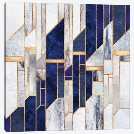 Blue Winter Sky Canvas Print #ELF253} by Elisabeth Fredriksson Canvas Art