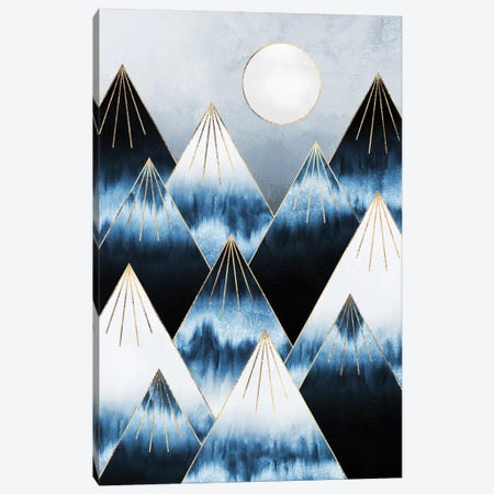 Frost Mountains Canvas Print #ELF256} by Elisabeth Fredriksson Canvas Print