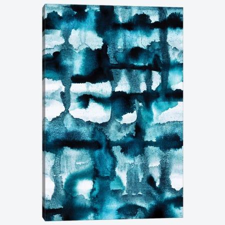 Wild Sea Watercolor Canvas Print #ELF260} by Elisabeth Fredriksson Canvas Print