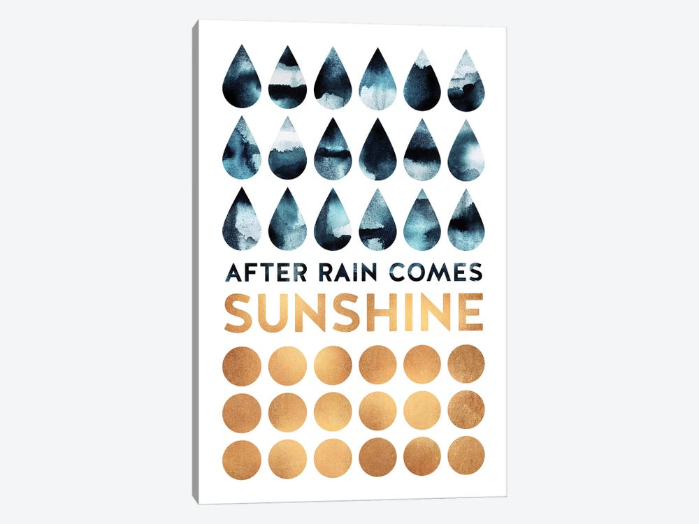 After Rain Comes Sunshine by Elisabeth Fredriksson 1-piece Canvas Art Print