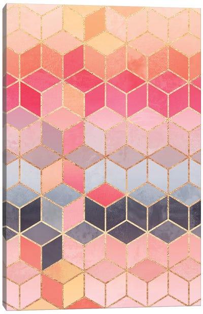 Happy Cubes Canvas Art Print