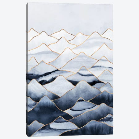 Mountains I Canvas Print #ELF272} by Elisabeth Fredriksson Canvas Wall Art
