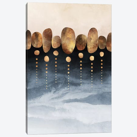 Natural Abstraction, Portrait Canvas Print #ELF273} by Elisabeth Fredriksson Canvas Wall Art