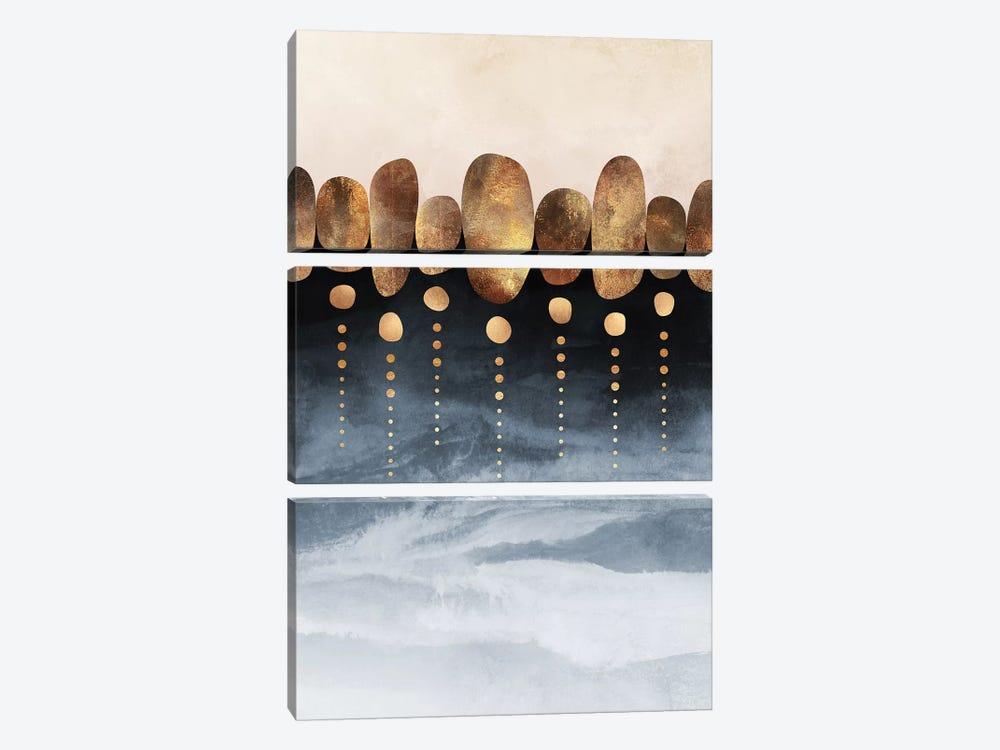 Natural Abstraction, Portrait by Elisabeth Fredriksson 3-piece Canvas Artwork