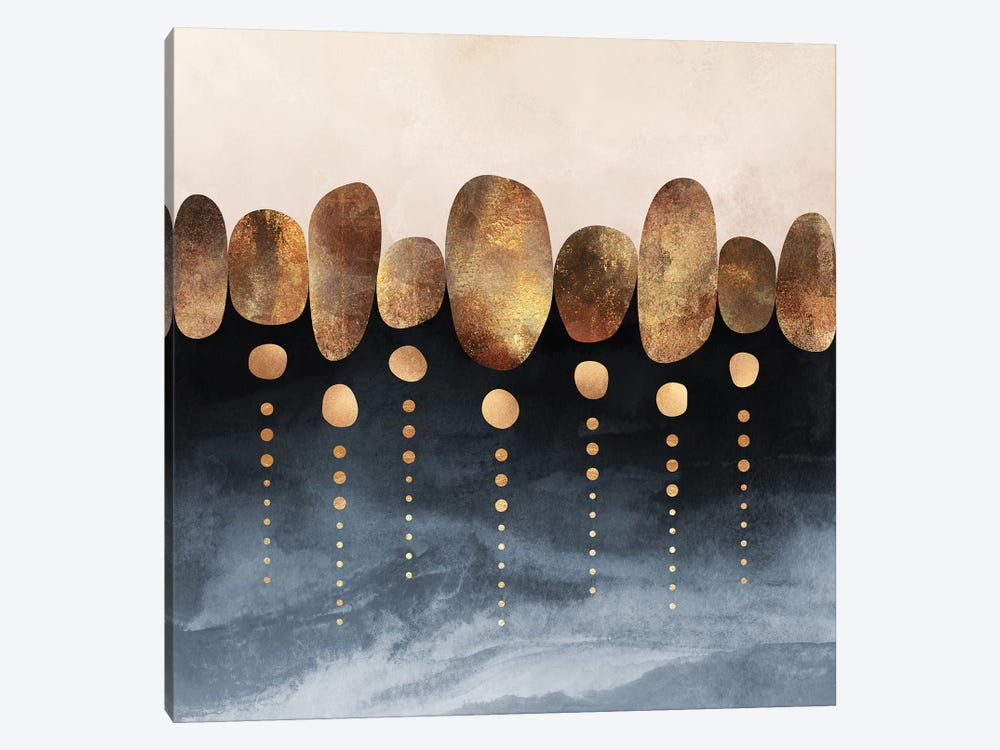 Natural Abstraction, Square by Elisabeth Fredriksson 1-piece Canvas Art Print