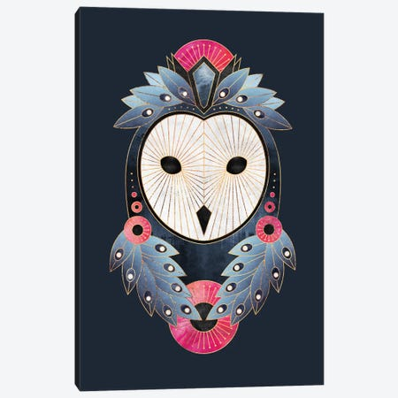 Owl I 3-Piece Canvas #ELF276} by Elisabeth Fredriksson Canvas Print