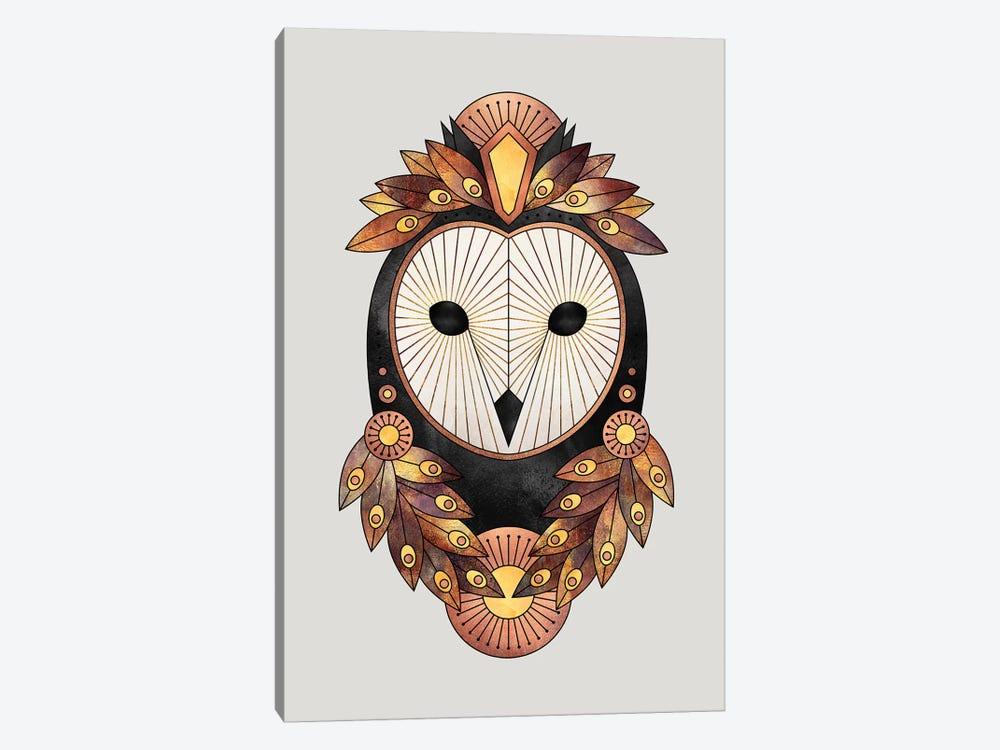 Owl II by Elisabeth Fredriksson 1-piece Canvas Wall Art