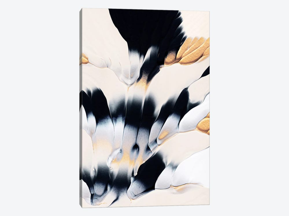 Abstract Flow I by Elisabeth Fredriksson 1-piece Canvas Wall Art