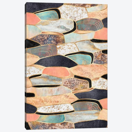 Pretty Stone Canvas Print #ELF287} by Elisabeth Fredriksson Canvas Artwork