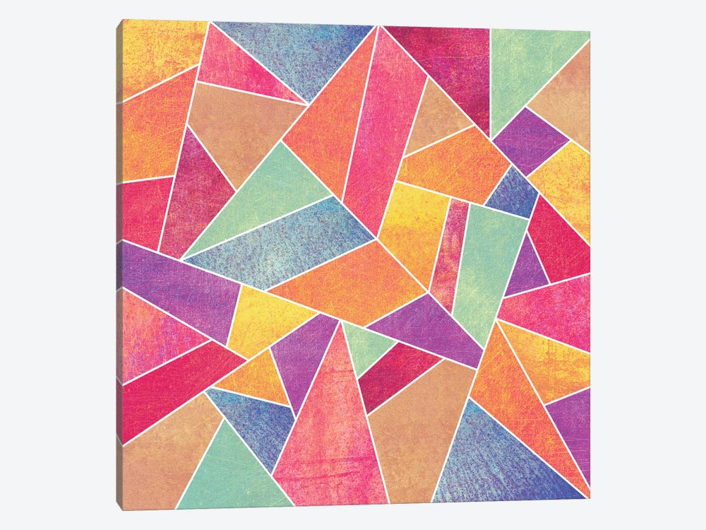 Colorful Stone 1-piece Art Print