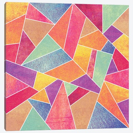 Colorful Stone Canvas Print #ELF28} by Elisabeth Fredriksson Canvas Art Print