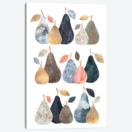Pears Canvas Print #ELF294} by Elisabeth Fredriksson Canvas Print