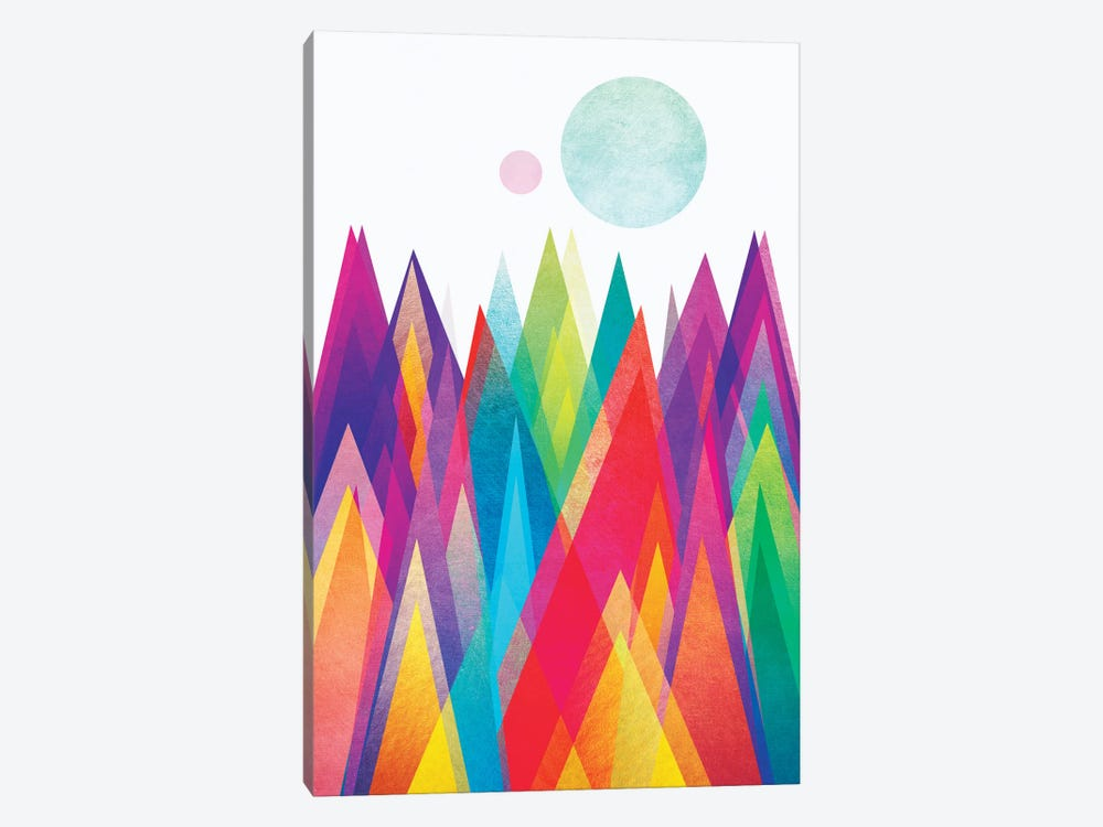 Colorland by Elisabeth Fredriksson 1-piece Canvas Artwork