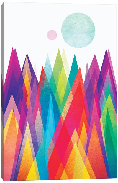 Colorland Canvas Art Print