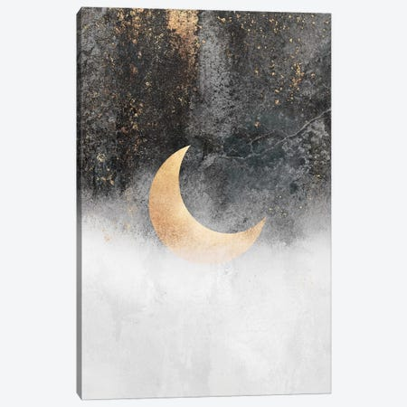 Crescent Moon Canvas Print #ELF300} by Elisabeth Fredriksson Canvas Artwork