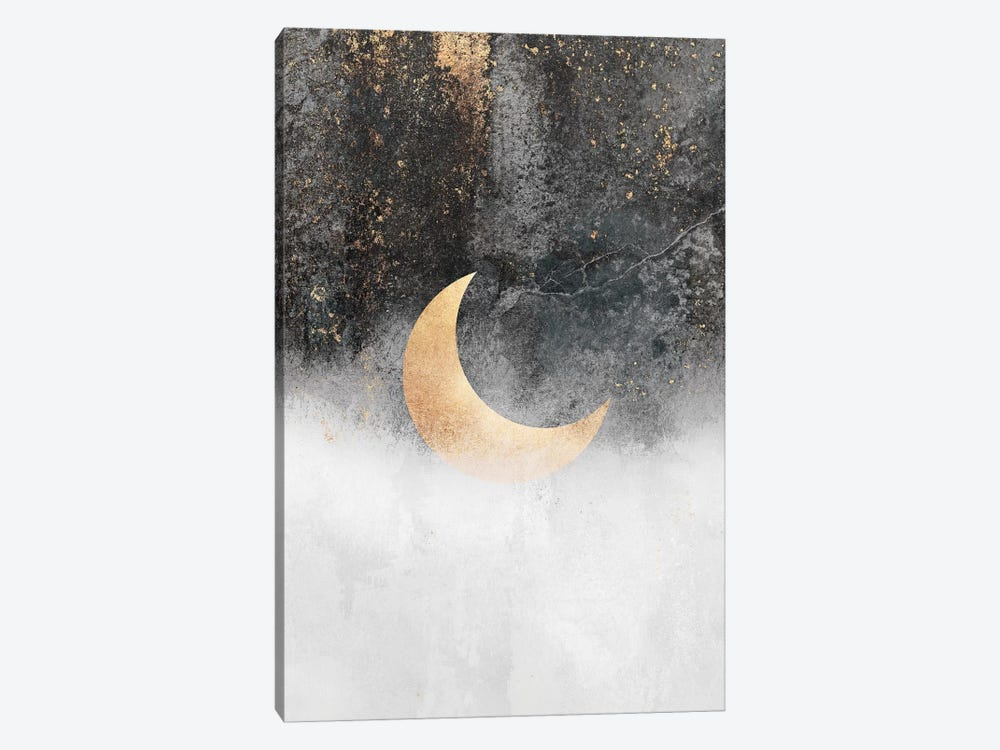 Crescent Moon by Elisabeth Fredriksson 1-piece Canvas Print