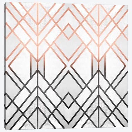 Gradient Geo Canvas Print #ELF302} by Elisabeth Fredriksson Canvas Artwork