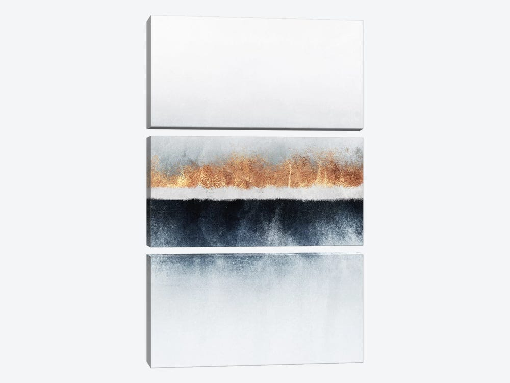 Horizon I by Elisabeth Fredriksson 3-piece Canvas Art