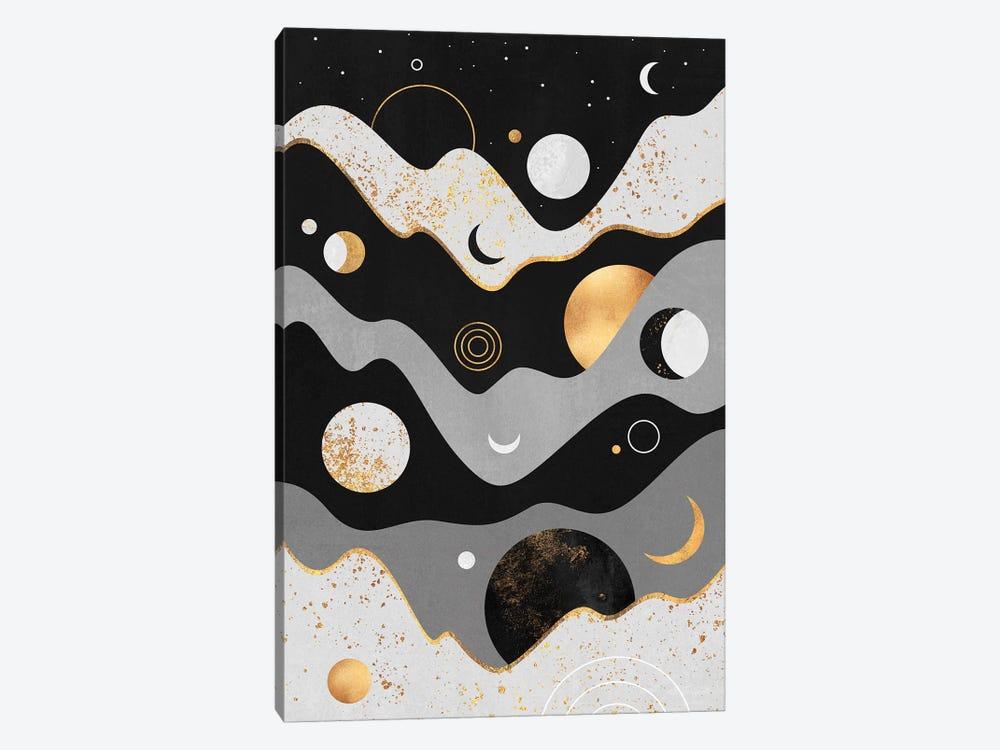 Lunar Landscape by Elisabeth Fredriksson 1-piece Canvas Art