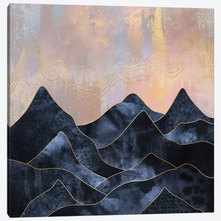 Mountainscape I Canvas Print #ELF308} by Elisabeth Fredriksson Canvas Wall Art