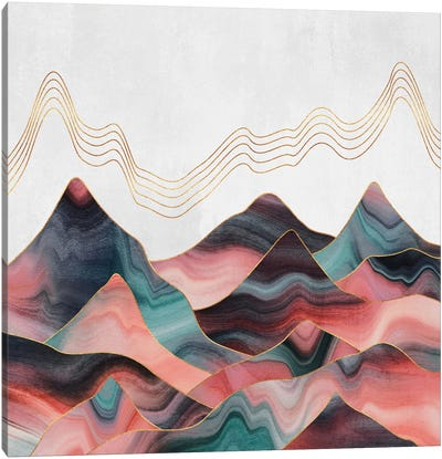 Mountainscape II Canvas Art Print