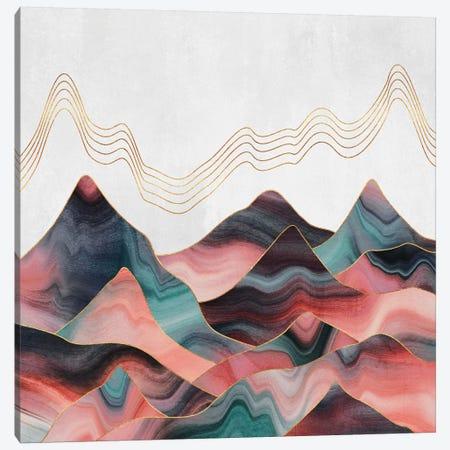 Mountainscape II Canvas Print #ELF309} by Elisabeth Fredriksson Canvas Wall Art
