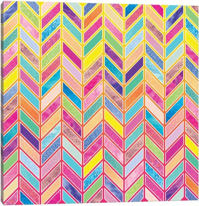 Colors Everywhere Canvas Art Print