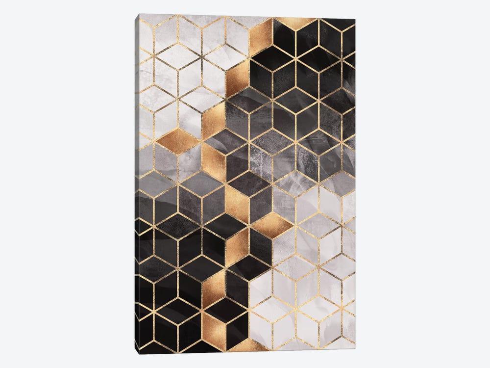 Smoky Cubes I by Elisabeth Fredriksson 1-piece Canvas Print