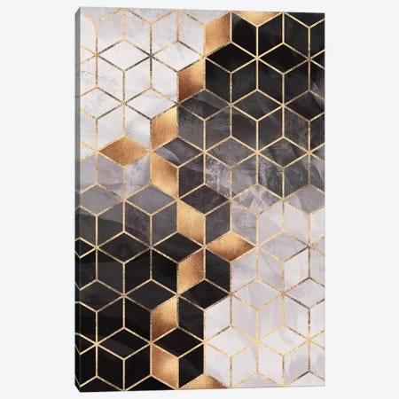 Smoky Cubes I Canvas Print #ELF313} by Elisabeth Fredriksson Canvas Art Print