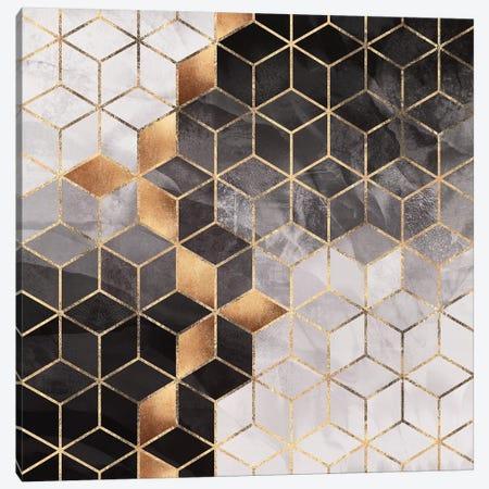 Smoky Cubes II Canvas Print #ELF314} by Elisabeth Fredriksson Canvas Artwork