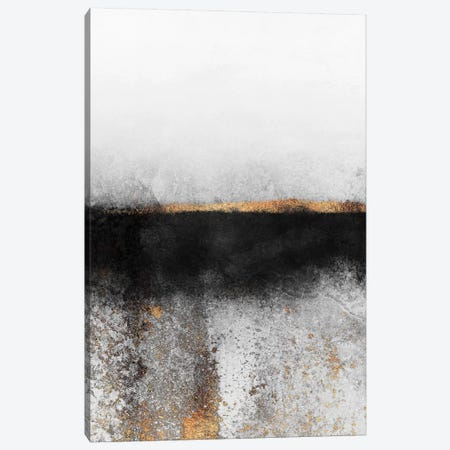 Soot And Gold Canvas Print #ELF315} by Elisabeth Fredriksson Canvas Art