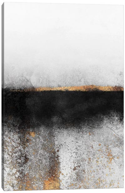 Soot And Gold Canvas Art Print