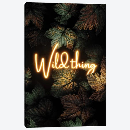 Wild Thing Canvas Print #ELF316} by Elisabeth Fredriksson Canvas Artwork