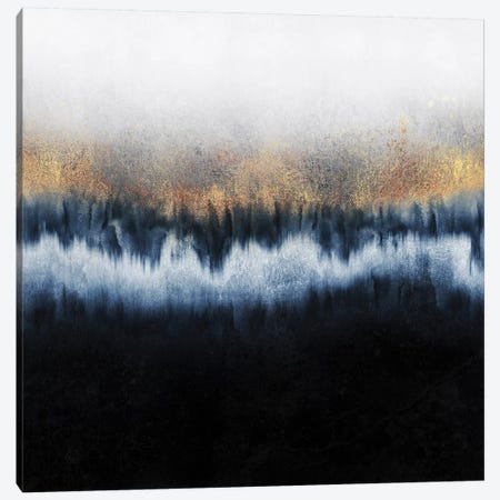 Golden Horizon - Square 3-Piece Canvas #ELF320} by Elisabeth Fredriksson Canvas Artwork
