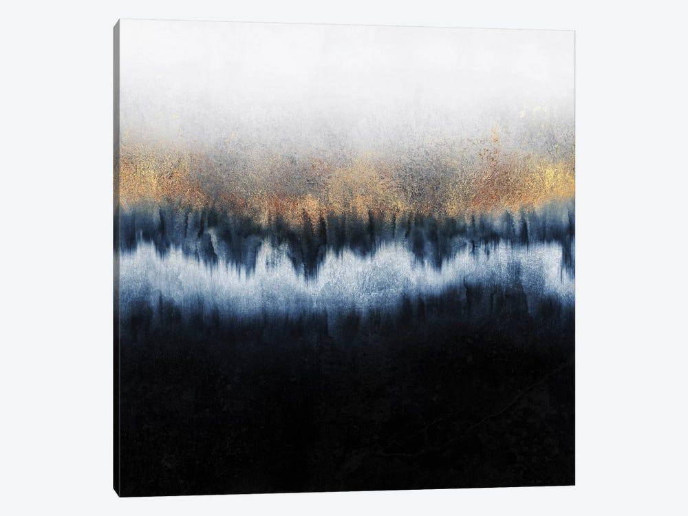 Golden Horizon - Square by Elisabeth Fredriksson 1-piece Canvas Print