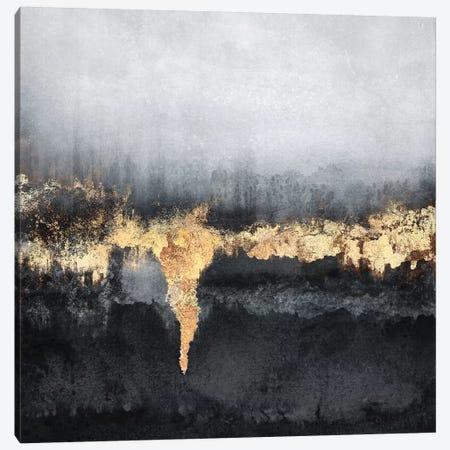 Uneasy - Square Canvas Print #ELF332} by Elisabeth Fredriksson Canvas Print