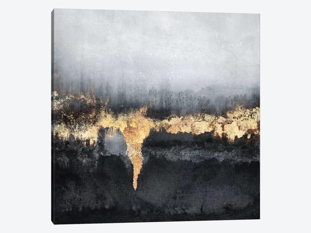 Uneasy - Square by Elisabeth Fredriksson 1-piece Canvas Artwork