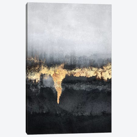 Uneasy Canvas Print #ELF333} by Elisabeth Fredriksson Art Print