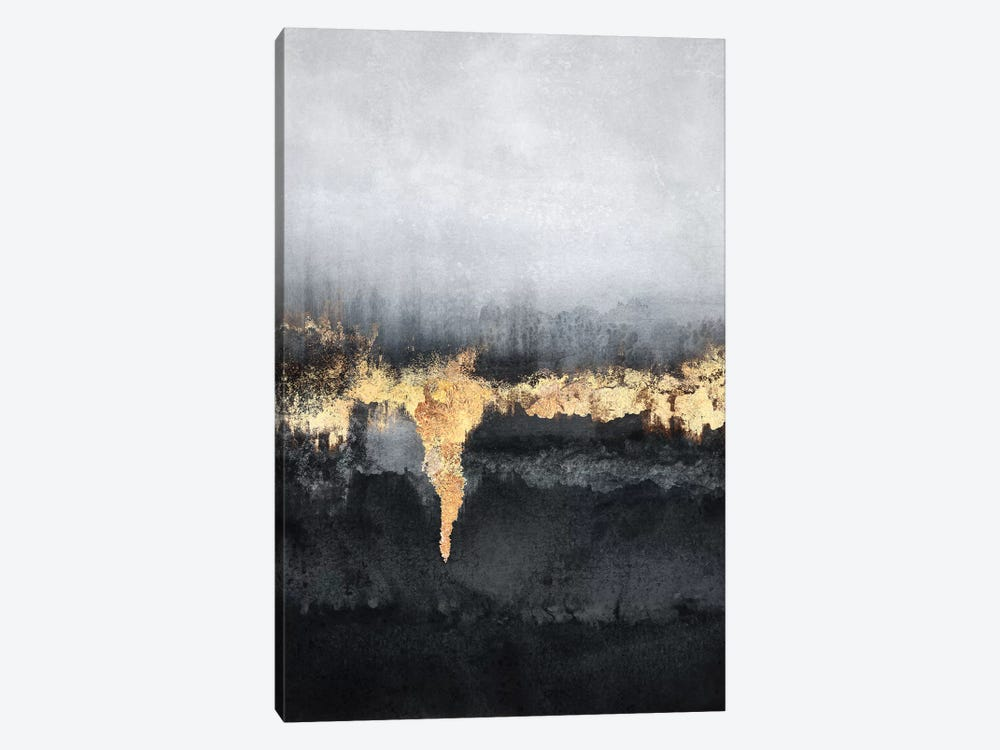 Uneasy by Elisabeth Fredriksson 1-piece Canvas Art Print