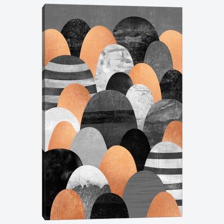 Copper Rocks Canvas Print #ELF33} by Elisabeth Fredriksson Canvas Artwork