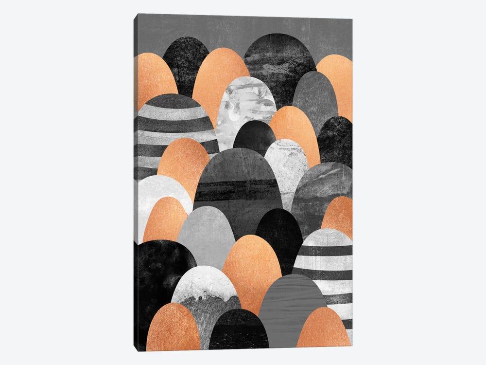 Copper Rocks by Elisabeth Fredriksson 1-piece Canvas Art Print