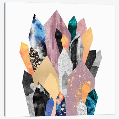 Crystals Canvas Print #ELF34} by Elisabeth Fredriksson Canvas Art Print