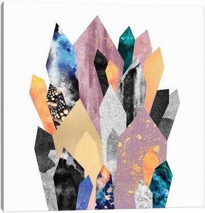 Crystals Canvas Art Print