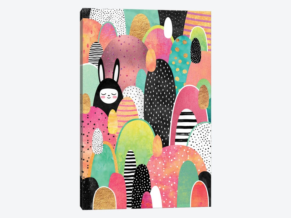 Deep In The Forest by Elisabeth Fredriksson 1-piece Art Print