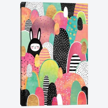 Deep In The Forest Canvas Print #ELF35} by Elisabeth Fredriksson Art Print